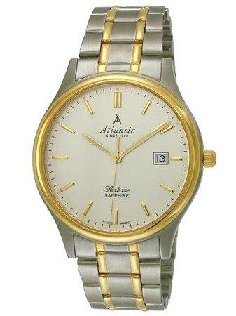 Zegarek Atlantic Seabase 60347.43.21 Szafirowe szkło