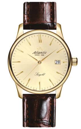 Zegarek Atlantic Seagold 95344.65.31 Szafir Złoto