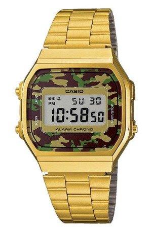 Zegarek Casio A168WEGC-3EF Retro Camouflage