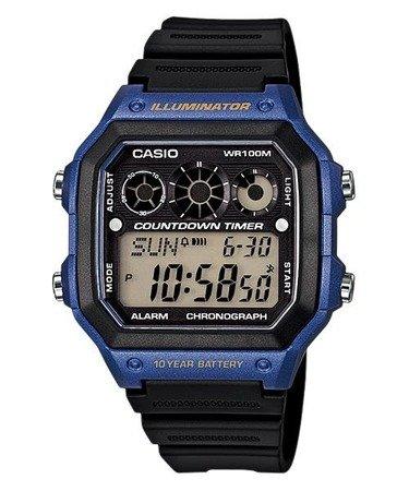 Zegarek Casio AE-1300WH-2AVEF Interval Timer