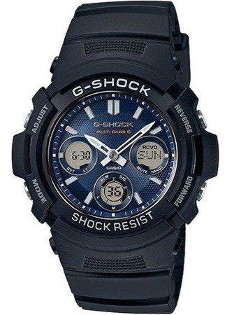 Zegarek Casio AWG-M100SB-2AER G-Shock Solar Wave Ceptor