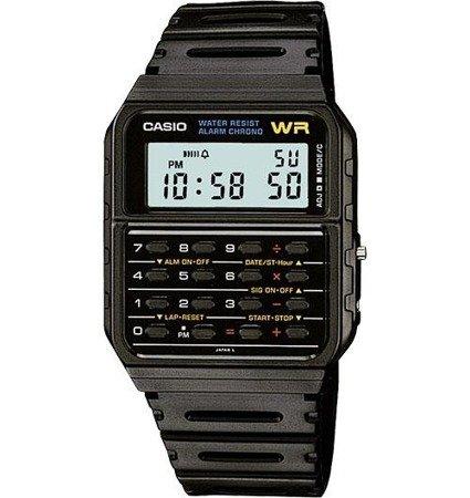 Zegarek Casio CA-53W-1ER Kalkulator Retro