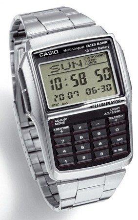 Zegarek Casio DBC-32D-1AEF DataBank Kalkulator