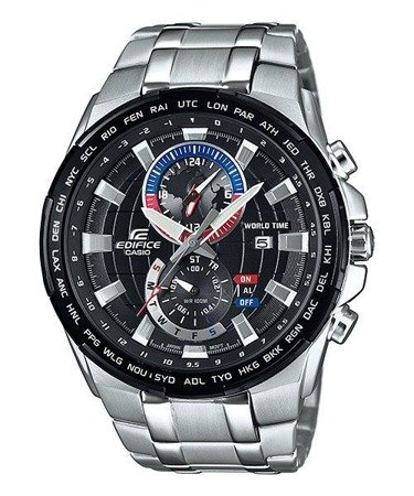 Zegarek Casio EFR-550D-1AVUEF Edifice Chrono Alarm