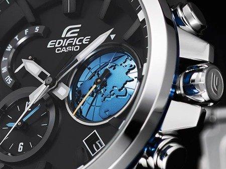 Zegarek Casio EQB-600D-1A2ER Edifice BT 4.0 Solar 3D Dial