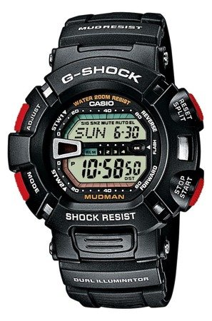 Zegarek Casio G-9000-1V G-Shock Mudman