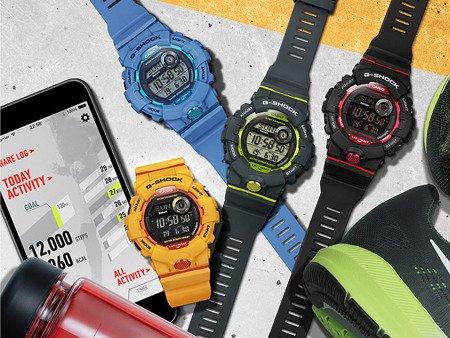 Zegarek Casio G-Shock G-SQUAD GBD-800-2ER Step Tracker