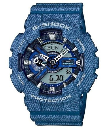Zegarek Casio GA-110DC-2AER G-Shock Denim Series