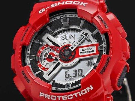 Zegarek Casio GA-110RD-4AER G-Shock