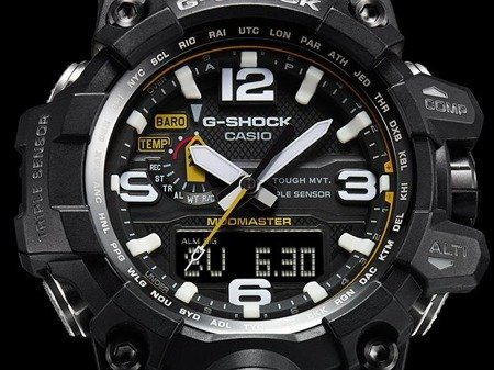 Zegarek Casio GWG-1000-1A3ER G-Shock Mudmaster