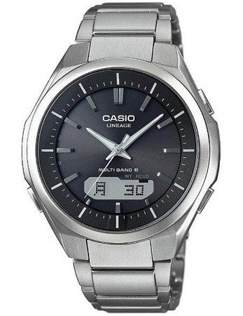 Zegarek Casio LCW-M500TD-1AER Tytan Solar Szafir Wave Ceptor