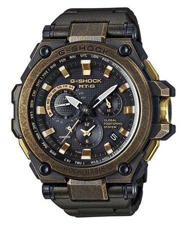 Zegarek Casio MTG-G1000BS-1AER G-Shock GPS MVT Smart Access