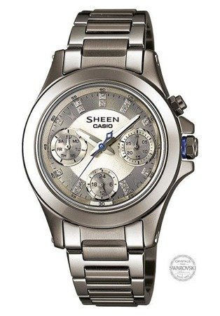 Zegarek Casio SHE-3503D-8AER Sheen LED Szafir