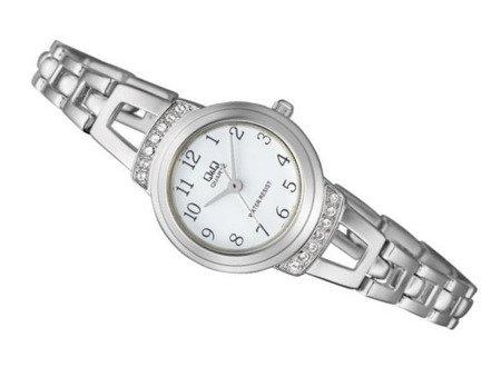 Zegarek Q&Q F573-204 Cyrkonie Biżuteryjny