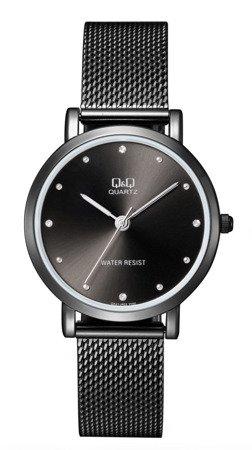 Zegarek Q&Q QA21-402 Fashion Mesh Cyrkonie