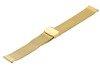Bransoleta stalowa do zegarka 20 mm Bisset BM-101/20 Gold